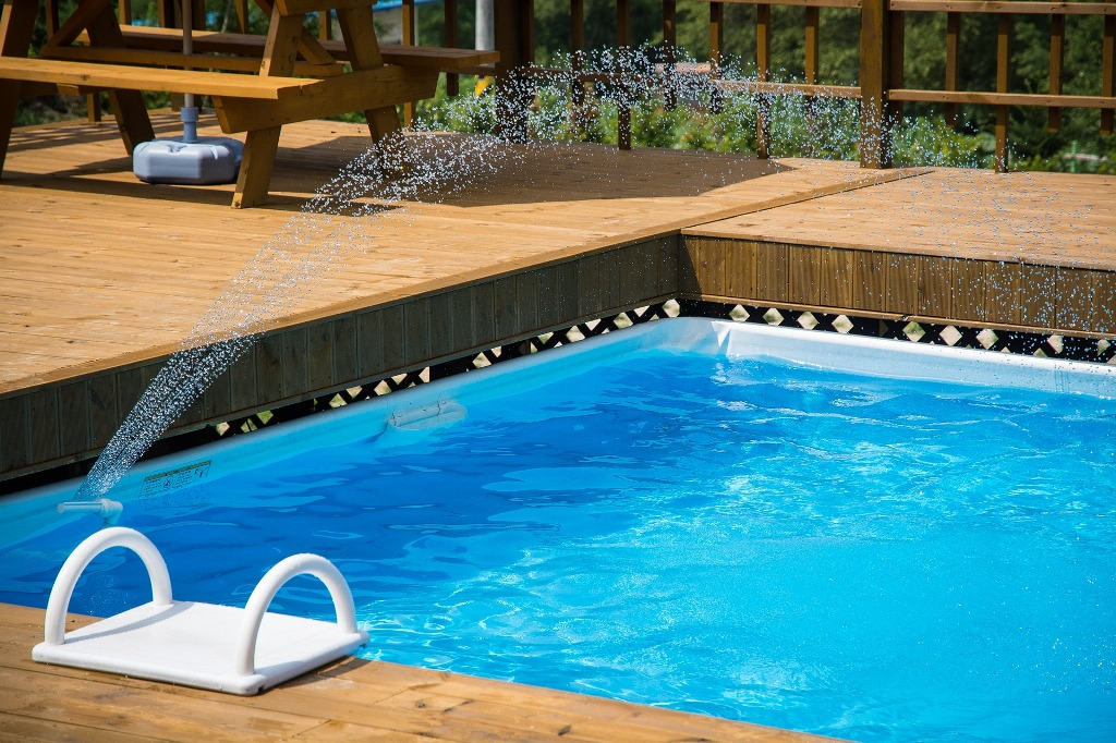 Swimming pool excavation services, Winkler Manitoba